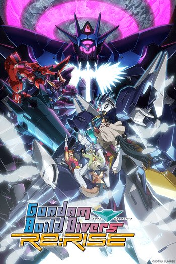 Gundam Build Divers Re:Rise 2 Temporada